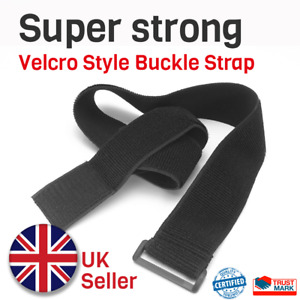 Hook and Loop Elastic Cable Ties with buckle Band luggage strap 30cm, 60cm, 1m