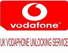 IPHONE 6 PLUS 6 6S 6S PLUS 5S 5 4S FACTORY UNLOCK CODE SERVICE FOR UK VODAFONE