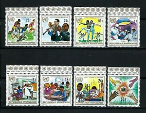 Rwanda 1975 Sc#675-80   National University of Rwanda-10th Anniversary   MNH Set