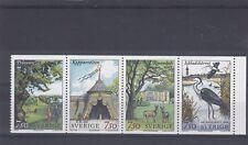 SWEDEN - SG1883-1886 MNH 1996 THE ECOPARK STOCKHOLM