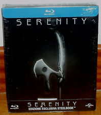 SERENITY STEELBOOK BLU-RAY NEW SEALED ACTION SPANISH (UNOPENED) R2