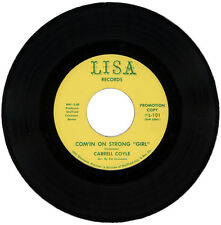 "CARRELL COYLE  ""COM'IN ON STRONG 'GIRL c/w LOVE'""  DEMO  NORTHERN SOUL  LISTEN!"