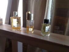 3 Vintage Miniature Perfume CARVEN MA GRIFFE/ Chanel No19/ Sortilege L Galion