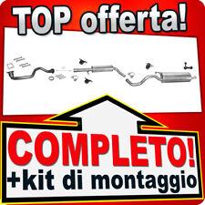 Scarico Completo SEAT LEON 1.4 16V 75PS 2002-2005 +Tubo Marmitta W66A