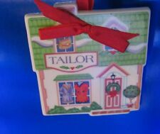 Lenox The Tailor Shop Ornament In the Lenox Village Giftware Collection(1Zfu)