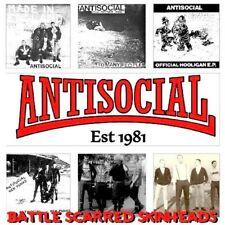 LP ANTISOCIAL - Battle Scarred Skinheads