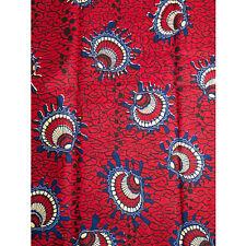 African Cockles Print Fabric BY 1/2 YARD Ankara kitenge fancy wax p1261