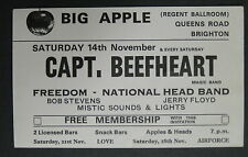 CAPTAIN BEEFHEART Big Apple (Regent Ballroom) BRIGHTON UK 1970 CONCERT Handbill