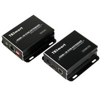 TESmart Over IP 120M Network KVM HDMI Extender by CAT5e/6 TCP/IP 1080P HDCP EDID