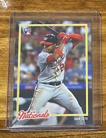 2018 Topps on Demand Inspired by '78 Rookie Card of Juan Soto #30 RC