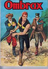 OMBRAX N° 5 DE JUIN 1966 EDITIONS LUG BON ETAT