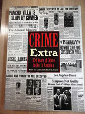 Crime Extra 300 Years of Crime in North America,Castle Books 2001 (INGLES)