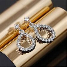 Clásico Colgante Diamante Estilo Cristal colgantes pendientes