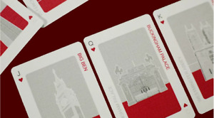 City Cards collectible playing cards with city landmarks, Tokyo, London, New Yor