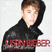 JUSTIN BIEBER - Under the Mistletoe (CD) - NEW! WOW! NICE! Take a L@@K!