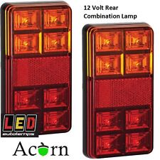 12 Volt LED Trailer Lights 3 Years warranty , Stop ,Tail, and Indicator 151BAR