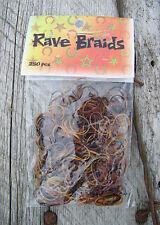 Rave Braids - Browns (250 piece)