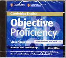 Cambridge OBJECTIVE PROFICIENCY CPE Class Audio CDs for revised Exam fr 2013 NEW