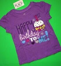 NEW Happy 1st Birthday To Me Baby Girls Shirt 12 18