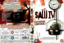 Saw IV (4) – Extreme Edition (DVD) - New - Sealed