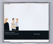 MAXI CD (PROMO)DEPECHE MODE THE SINGLES 86>98 ALBUM SAMPLER