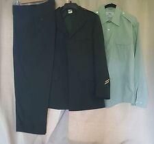 US Army Green Uniform Jacket Pants Dress Shirt