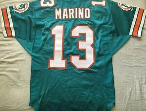 Dan Marino Miami Dolphins 1996 authentic Wilson game model size 46 aqua jersey