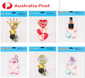 Foil Balloons sets Happy Birthday Balloons Decoration Party Decoration AU Stock