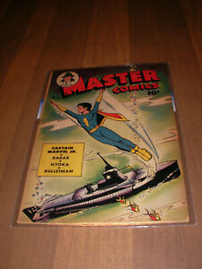 Master Comics # 55     Fawcett    1944   Golden Age