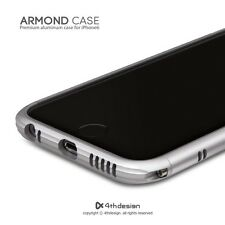 New 4thdesign Armond Aluminium Metal Bumper Cases Covers for iPhone 6 Silver