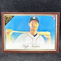 2019 Topps Gallery Wood Grain Kyle Tucker RC Houston Astros Rookie #121