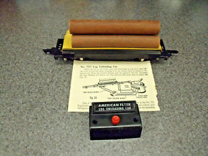 American Flyer Early 1950's Excellent Example Of A Complete Orig. #717 Log Dump