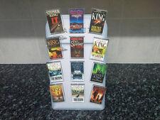 Steven King Fridge Magnet Set. 12 PCS. Christine, It, The Shining. Book Art NEW