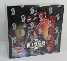 Transformers War for Cybertron Trilogy Siege Factory Sealed Booster Box