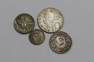 WORLD OLD SILVER COINS LOT B35 S23