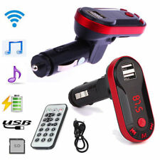 Car USB Remote Bluetooth Wireless FM Transmitter Music Player MP3 Handsfree Kit