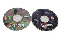 Tom Clancy's Rainbow Six: Rogue Spear (PC, 1999) CD w/ Mission Pack - Discs Only