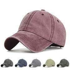 83a02e21e2930 Women Ponytail Hat Horsetail Baseball Cap Empty Top Solid Vintage Hip-Hop  Hat UK