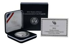 """2011 Medal Of Honor Commemorative Silver Dollar """"Proof"""" *Free S/H After 1st Item"""