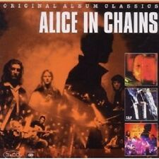 "ALICE IN CHAINS ""ORIGINAL ALBUM CLASSICS"" 3 CD NEU"