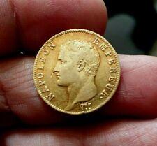 20 FRANCS  NAPOLÉON EMPEREUR -  AN  13  A OR/GOLD