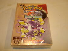 pokemon BodyGuard theme Deck 1999 Fossil factory sealed WOTC
