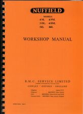 Nuffield 4M to 460 Tractor Workshop Manual