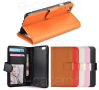 HOUSSE COQUE CUIR LEATHER WALLET CASE iPHONE 4S/ 5S/ 5C/ 6 Plus/ 6S/ 7/ 8 / X