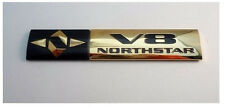"NEW! Cadillac ""V8 NORTHSTAR"" Emblem! 24K GOLD PLATED!"