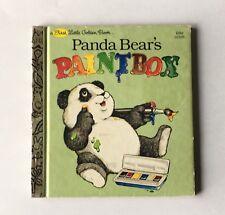 First Little Golden Book Panda Bears Paintbox 10105 Michaela Muntean First Ed A