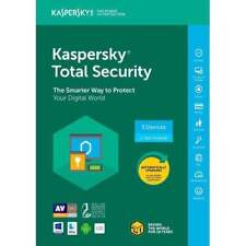 Kaspersky Total Security 2017 2018 5 Devices/1 Year|Global key|Instant delivery