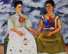 Print - The Two Fridas, 1939 by Frida Kahlo