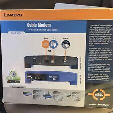 Linksys Cable modem BEFCMU10