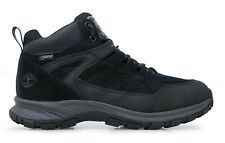 Timberland Sadler Pass Waterproof GTX Gore-tex Boots Hiking Shoes Black New